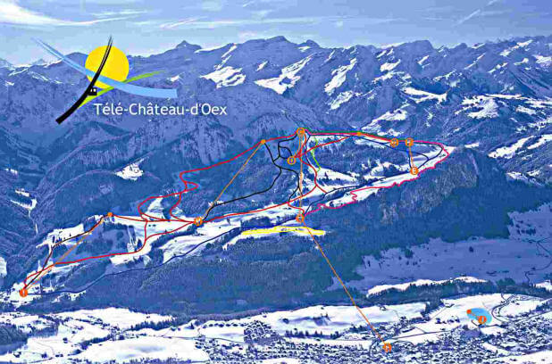 Chteaudoex The ski station and its webcams